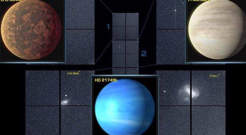 شروع طوفانی ماهوارهی TESS با کشف سه سیارهی فراخورشیدی و آشکارسازی چند ابرنواختر