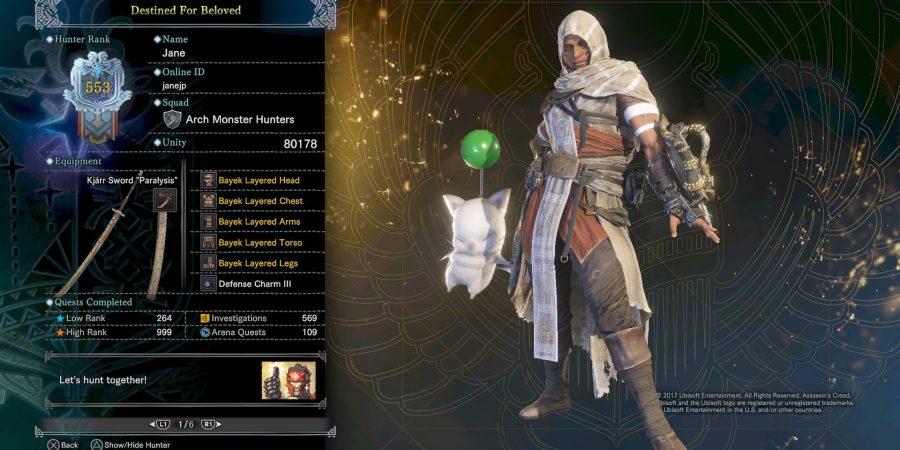 لباسهای فرقه اساسین را در Monster Hunter: World پیدا کنید