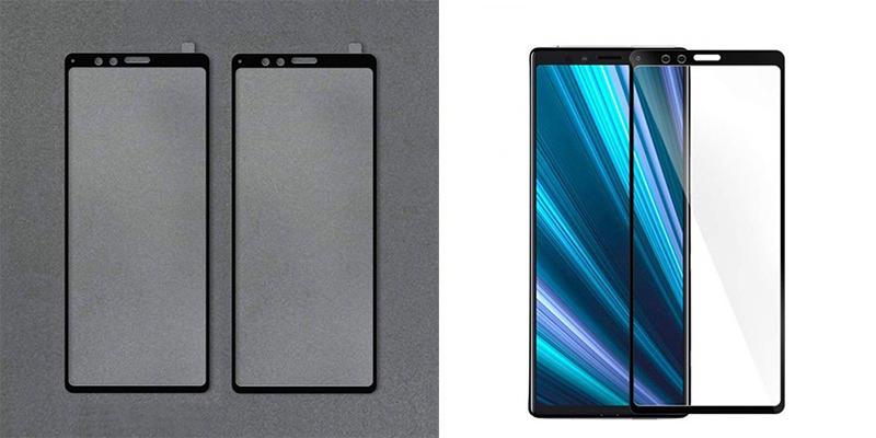 محافظ نمایشگر اکسپریا XZ4 نمایشگر بلند دستگاه را تایید میکند