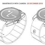 الجی پتنت یک ساعت هوشمند مجهز به دوربین ماژولار را ثبت کرد