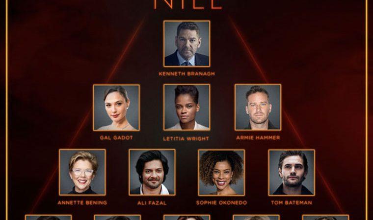 """مراحل ساخت فیلم سینما """"Death on The Nile"""" آغاز شد"""