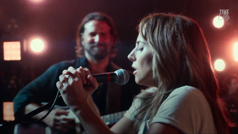 A star is born movie song