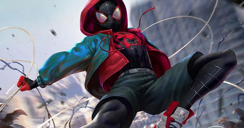 Spiderman into the verse main theme